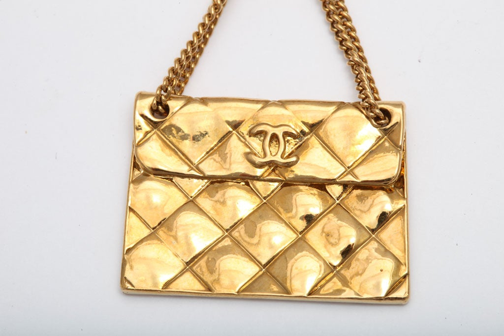 Chanel 2.55 quilted bag motif earrings 4