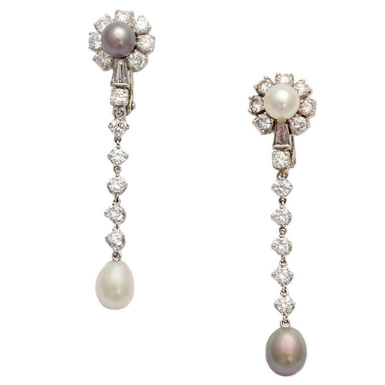 Diamond And Natural Pearl Earrings At 1stdibs. Anklet Length. Personalised Necklace. Flower Pendant. Zirconium Diamond1 Carat Earrings. Circle Charm Bracelet. Diamond Hinged Bangle Bracelet. Luxury Bracelet. Cardiac Bracelet