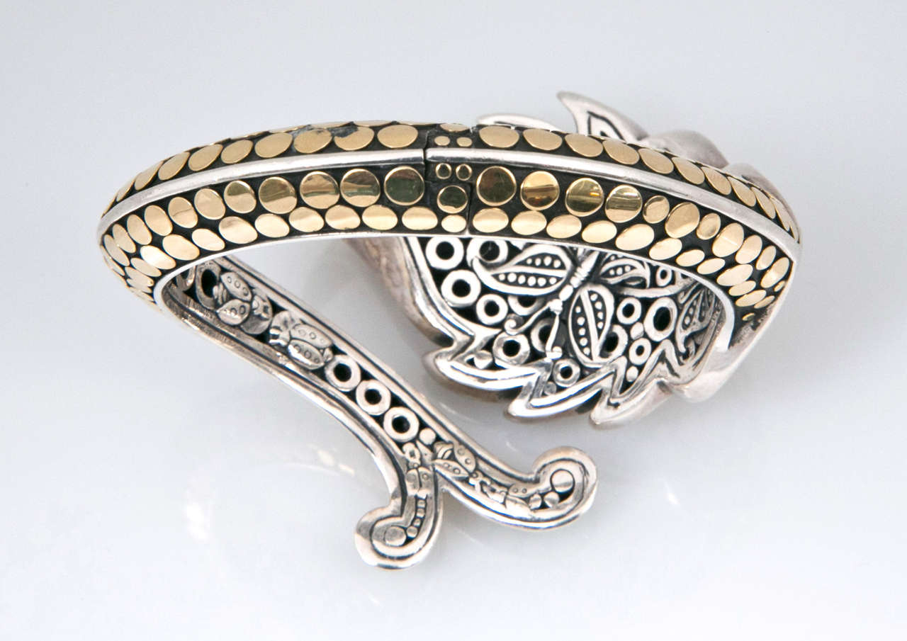 John Hardy Leaf Design Bracelet Presented By Jewelry And