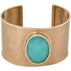 Hammered Gold Cuff bracelet Presented By Jewelry And Such