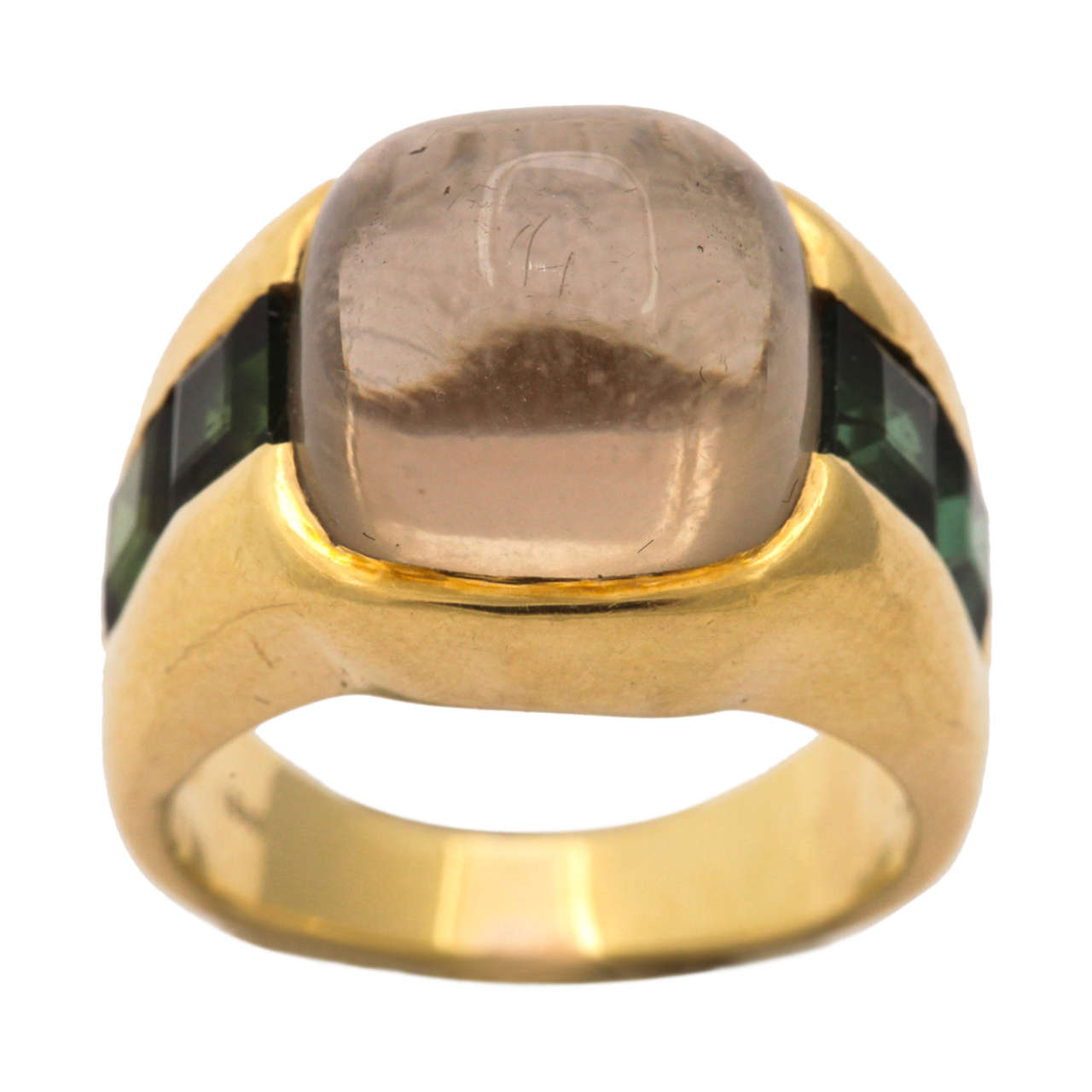 Citrine & Green Tourmaline Ring 1