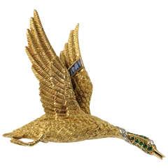 Hermes Flying Goose Pin