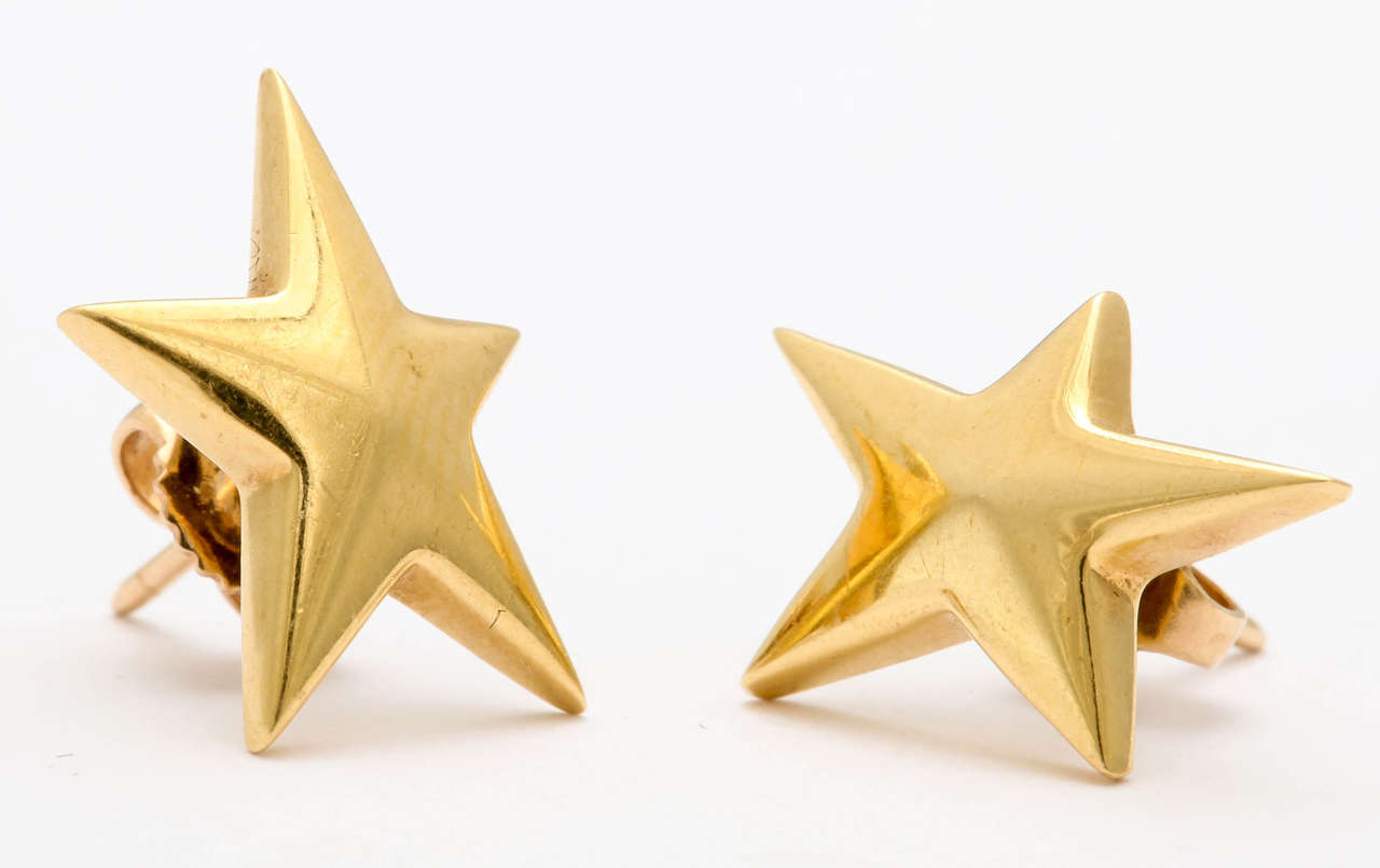 40d3122a0 Tiffany and Co. Angela Cummings Star Earrings at 1stdibs