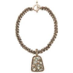 Stephen Dweck Mohawkite  Unique Necklace