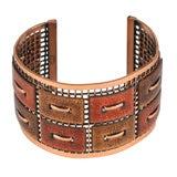 Matisse Renoir Copper Cuff Bracelet