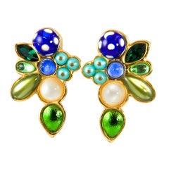 Chanel Runway Earrings by Chanel