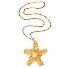 Mimi Di Niscemi Starfish Pendant Necklace