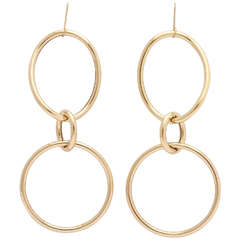 Faraone Mennella Medium Gold Stella Earrings
