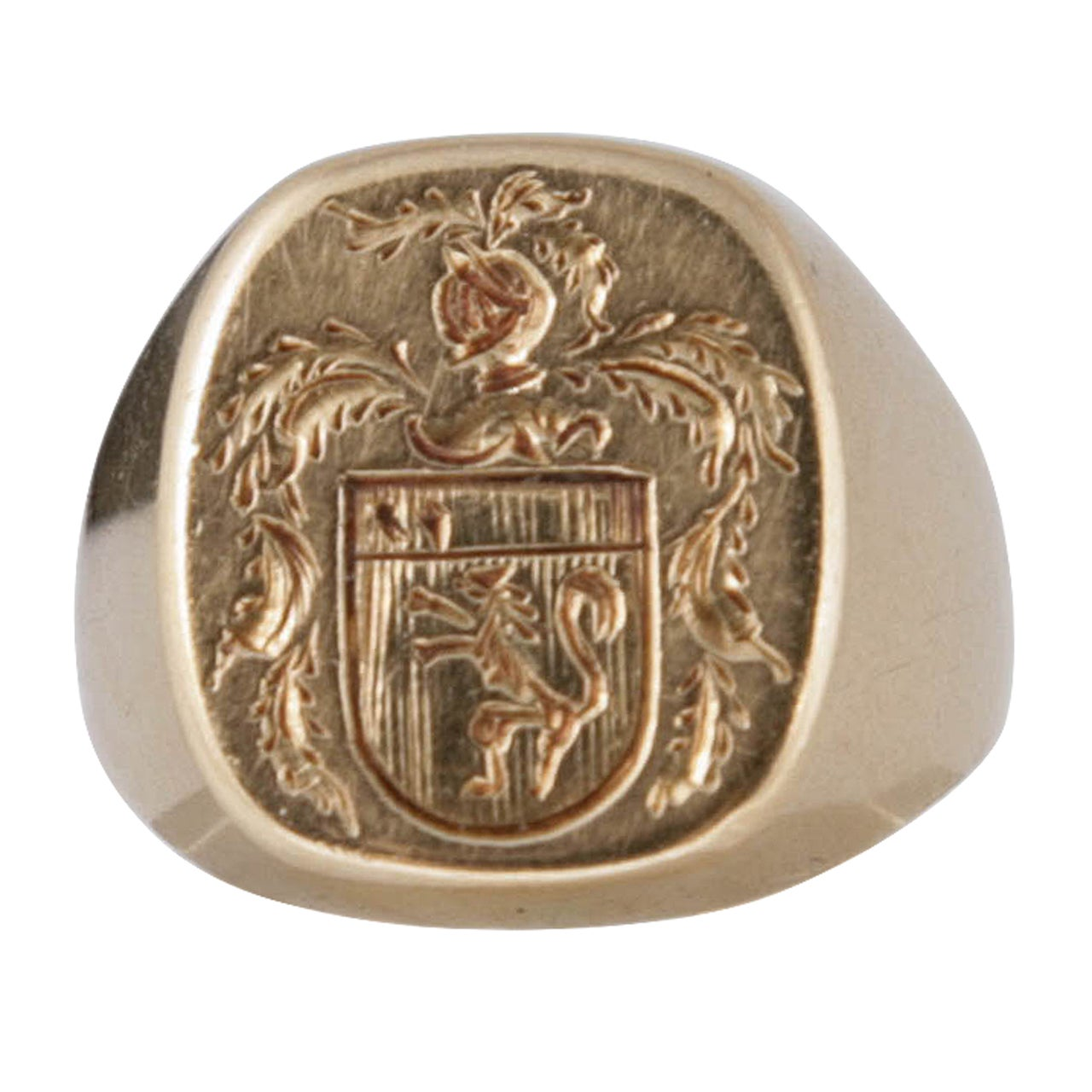 Armorial Signet Ring At 1stdibs