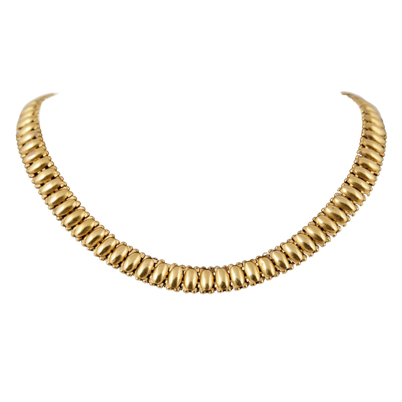 Victorian Gold Necklace At 1stdibs