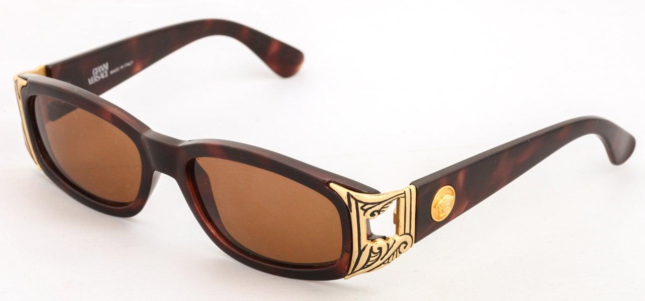 Vintage Gianni Versace Sunglasses Mod 482 COL 900