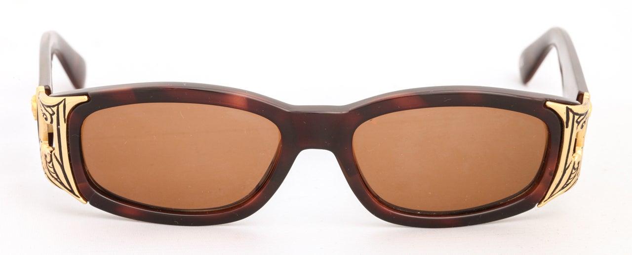 Men's Gianni Versace Sunglasses Mod 482 COL 900 For Sale