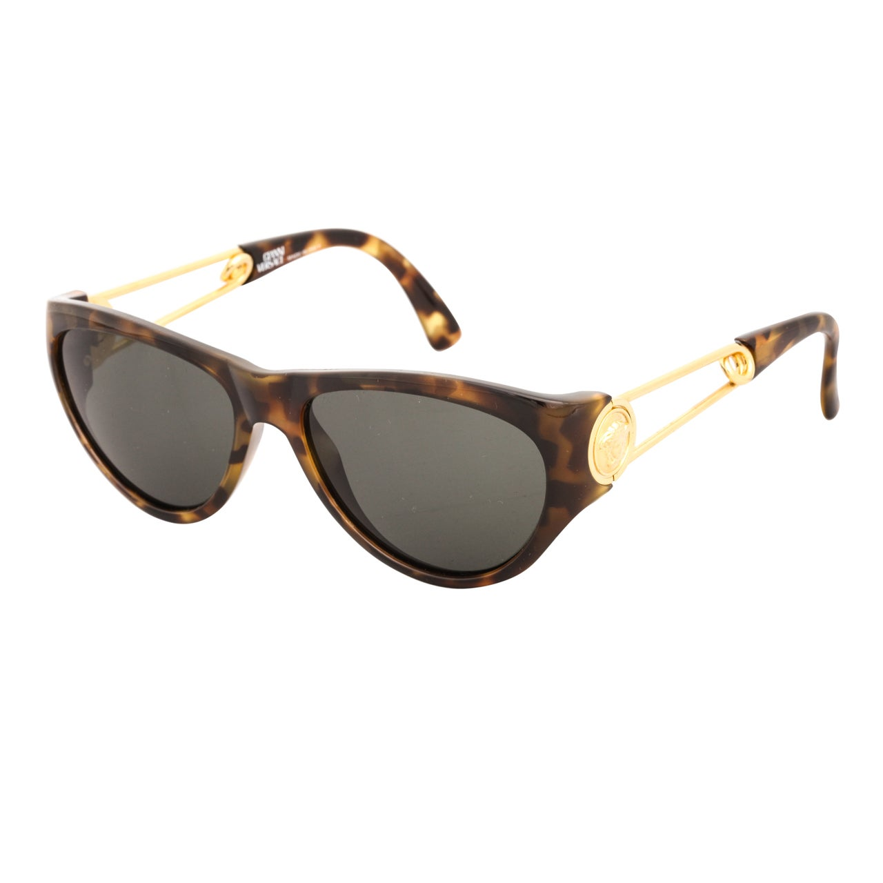 Gianni Versace Safety Pin Sunglasses Mod 427 Col 279 At