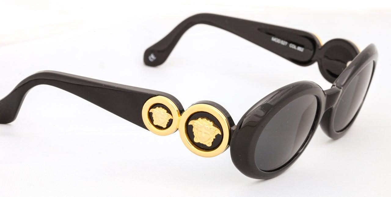 Gianni Versace Medusa Sunglasses Mod 527 Col 852 4