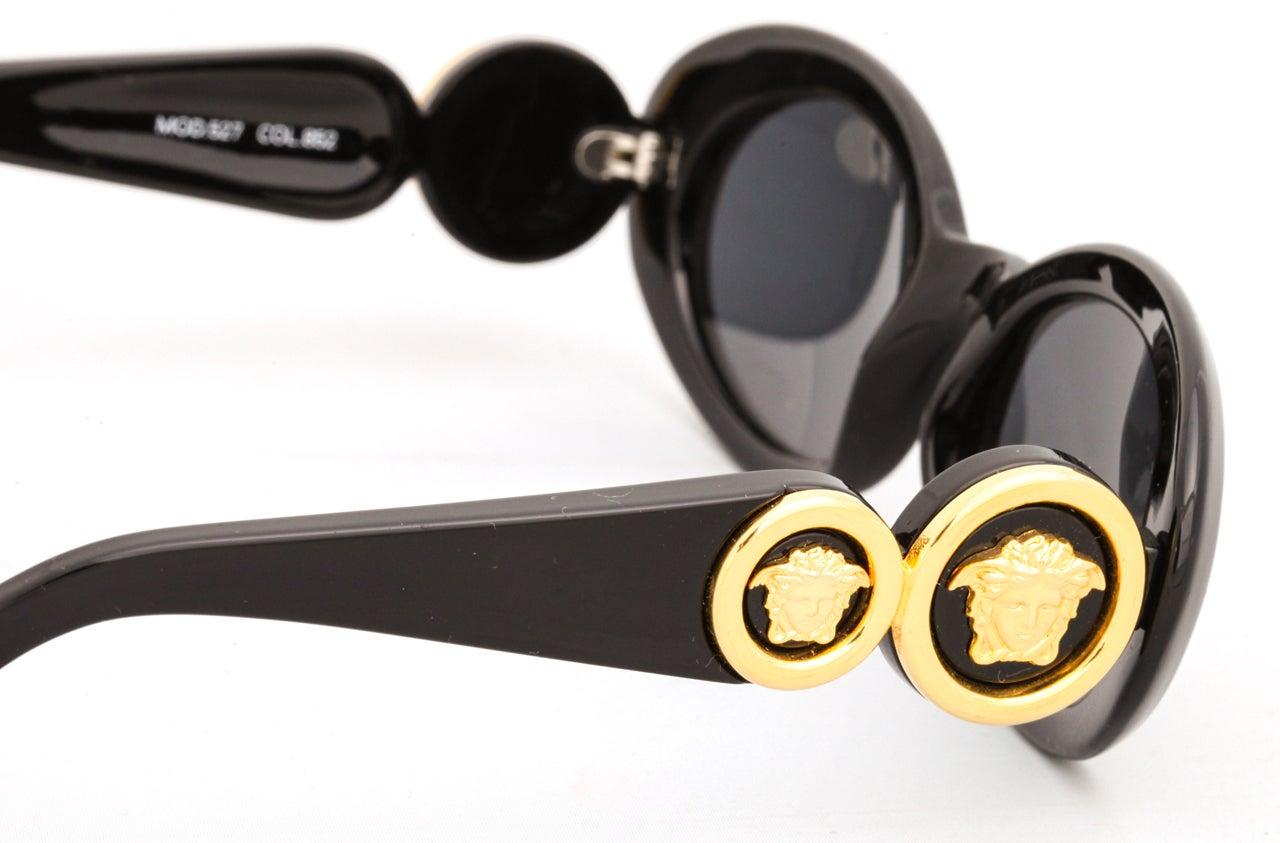 Gianni Versace Medusa Sunglasses Mod 527 Col 852 5