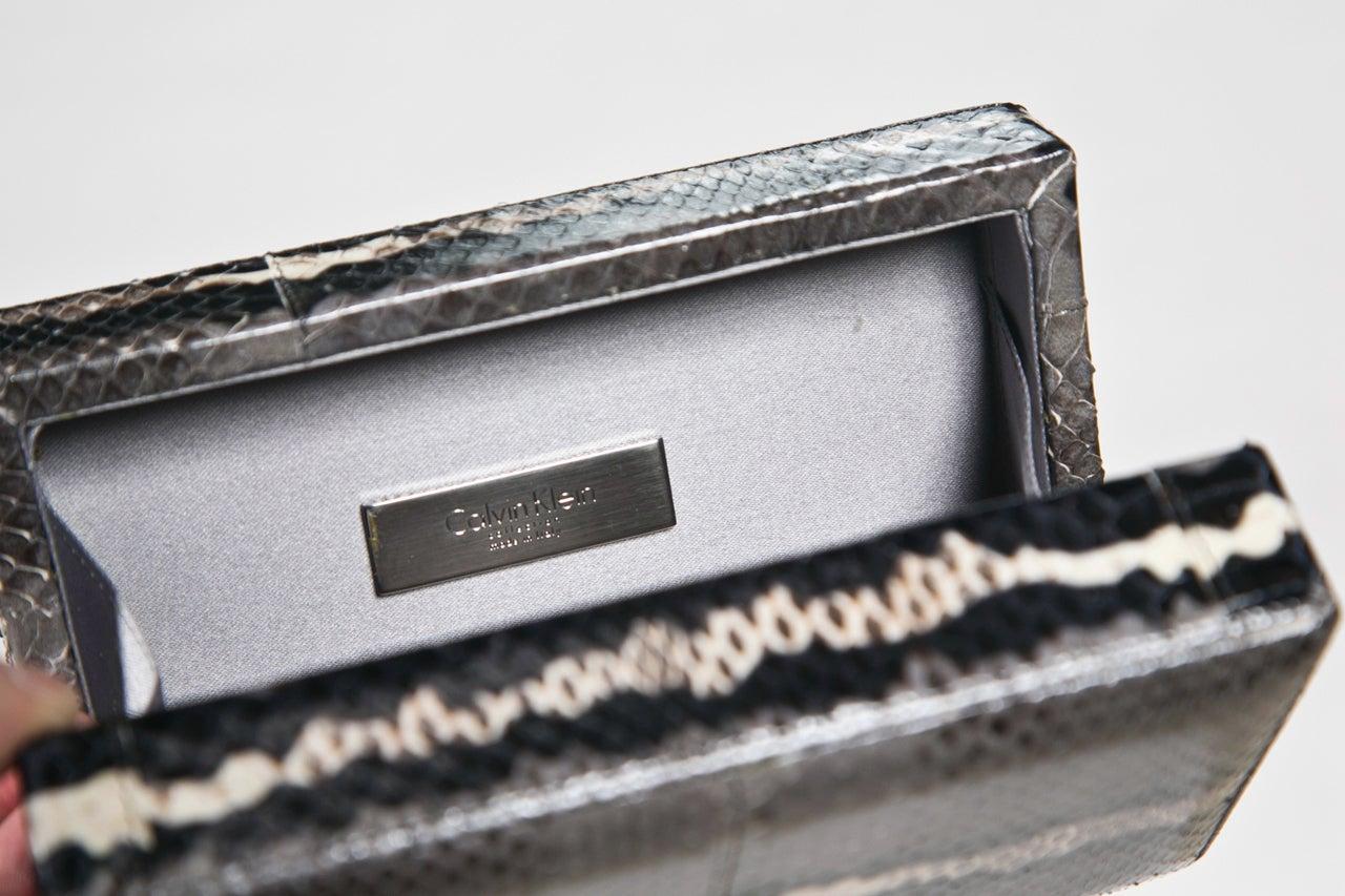 Women's calvin klein skin colorblock handbag For Sale