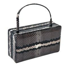 calvin klein skin colorblock handbag