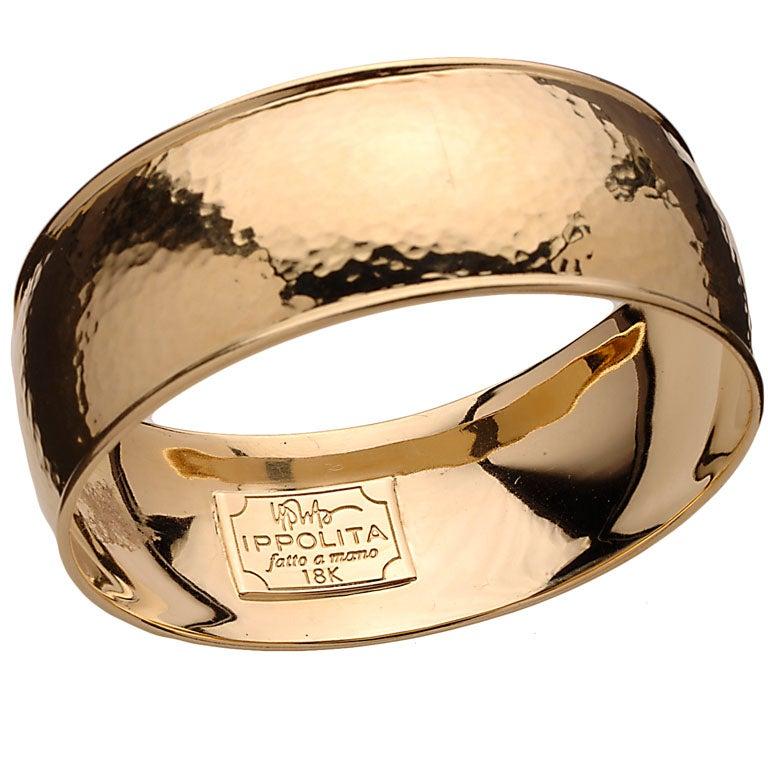 Ippolita Gold Bangle Bracelet