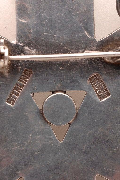 Women's or Men's William Spratling Brooch/Pendant For Sale