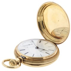 Waltham Yellow Gold Hunting Case Pocket Watch