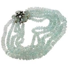 Iradj Moini Stunning Aquamarine Necklace