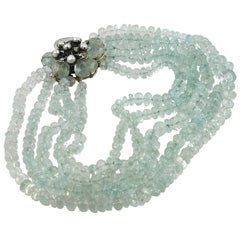 Iradj Moini Stunning Aquamarine Necklace