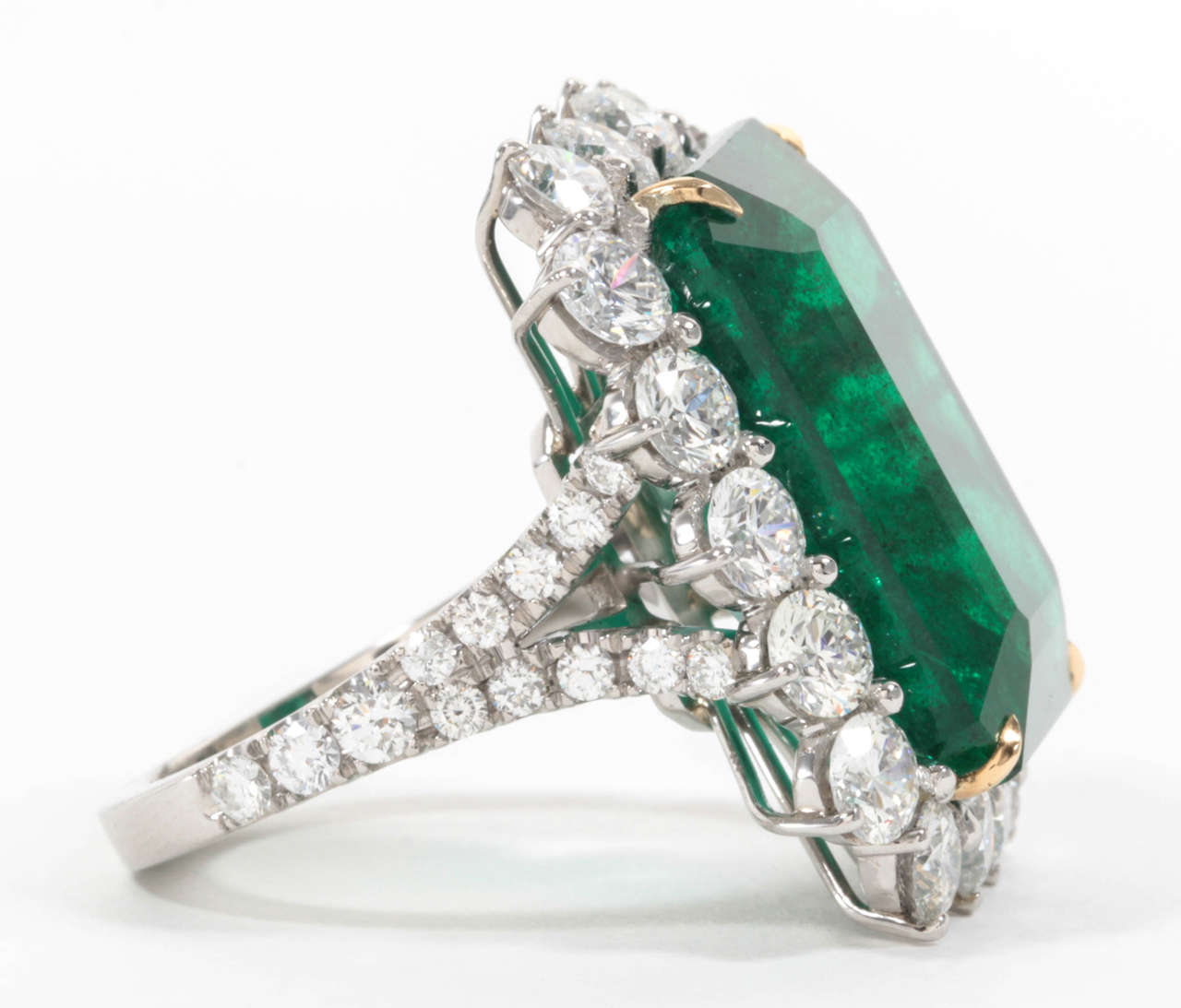beautiful unique fashion emerald rings engagement bridal hbz wedding green