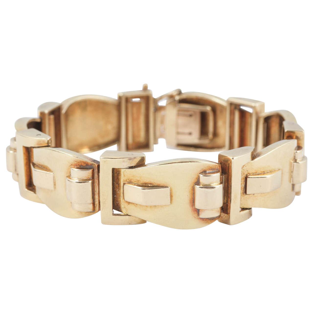 1940s Buckle Style Bracelet