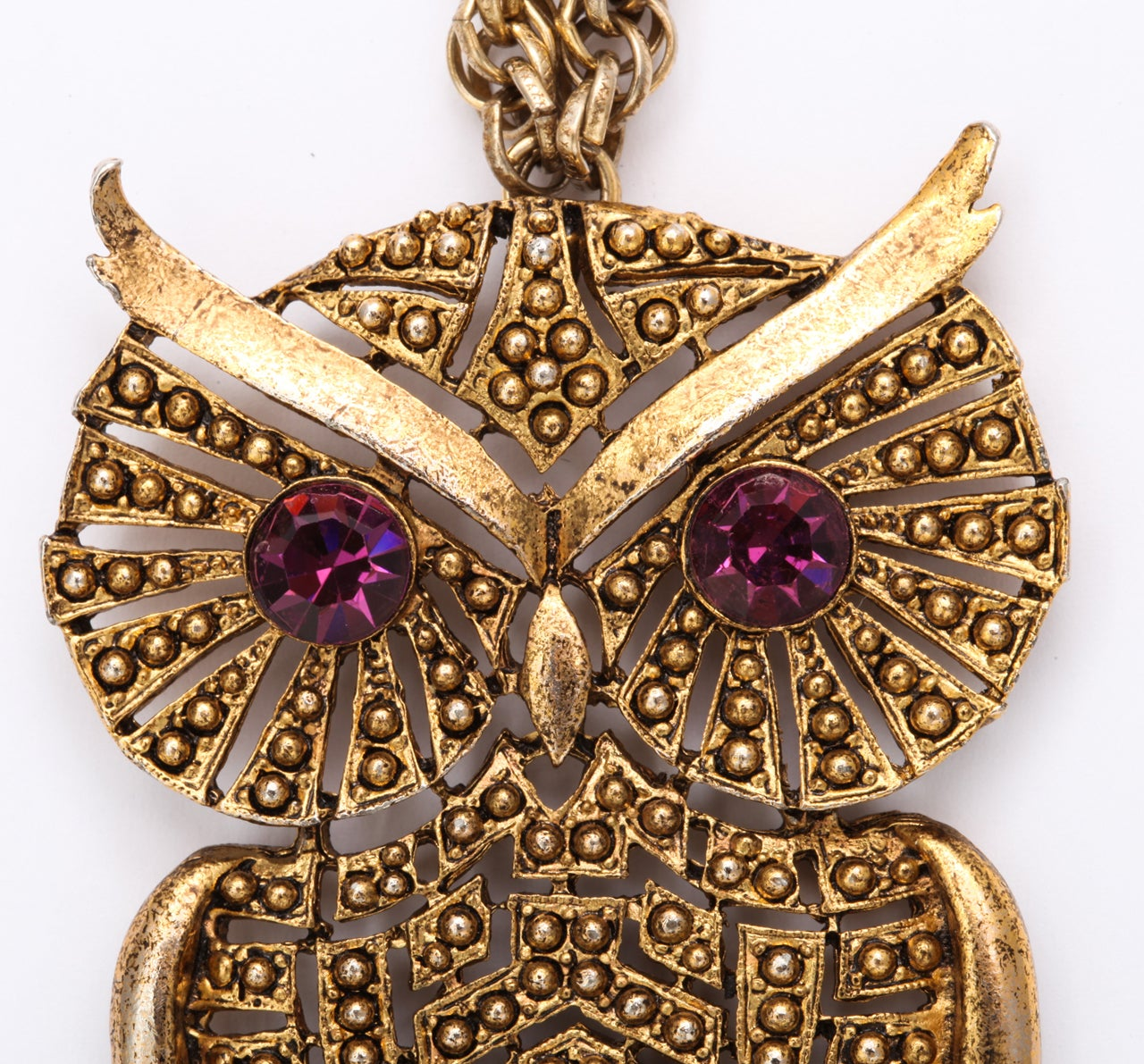 1960s Owl Pendant For Sale 2