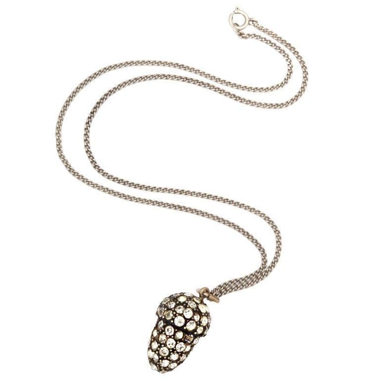 Love Luck, Power:  The Mighty Acorn Necklace