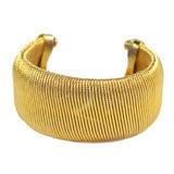 Goldtone Cuff Bracelet