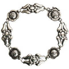 Georg Jensen Art Deco Sterling Silver Bracelet