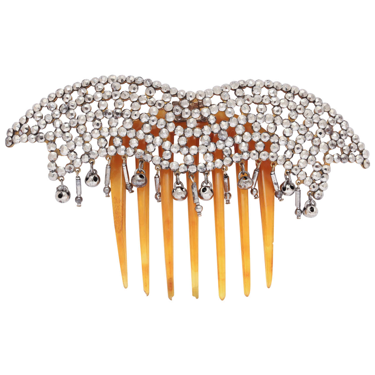Lush and Luscious Georgian Hair Comb For Sale