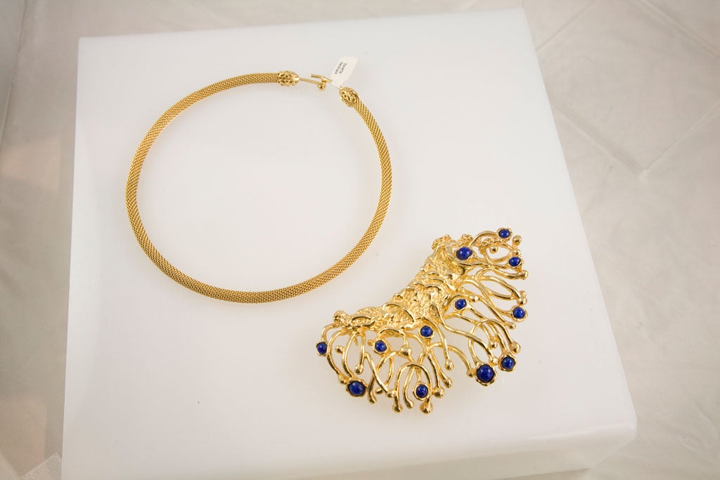 Panetta Modernist Choker In Excellent Condition For Sale In Los Angeles, CA