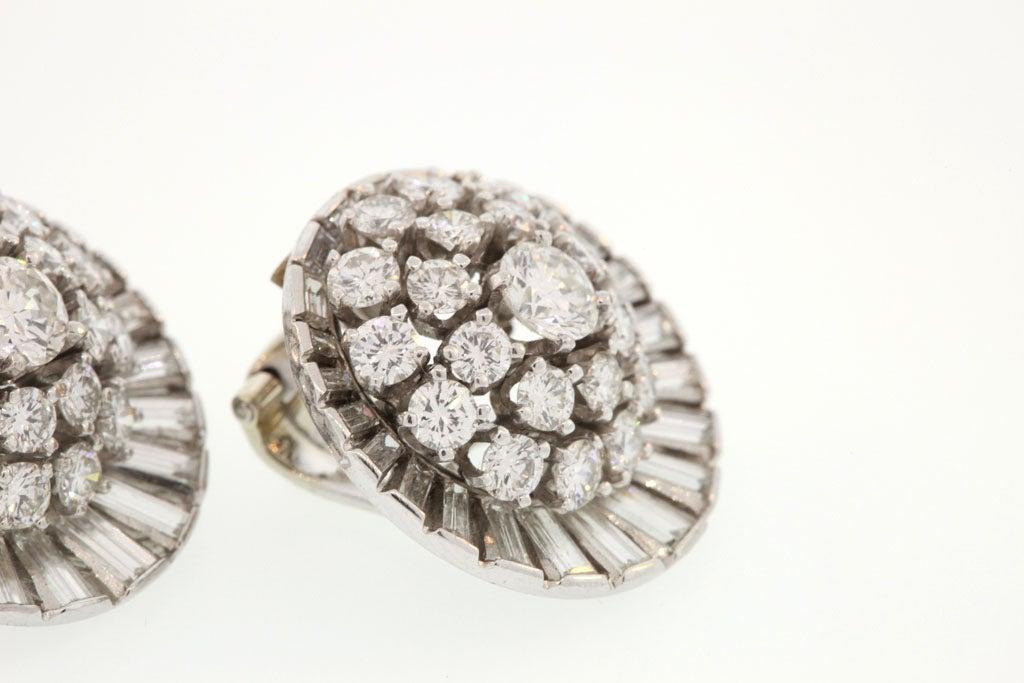 Diamond Satellite Earclips For Sale 4