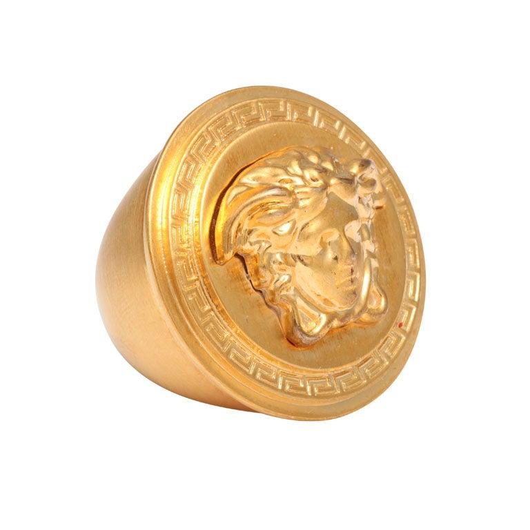 VERSACE MEDUSA JELLYFISH RING at 1stdibs: https://www.1stdibs.com/jewelry/rings/fashion-rings/versace-medusa...