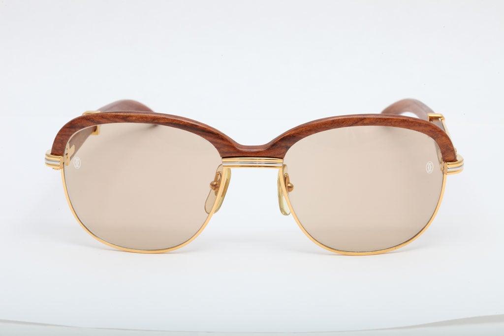 Classic vintage Cartier sunglasses.
