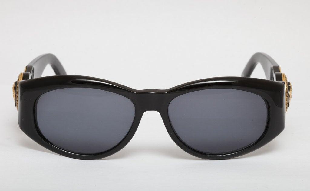 abad7b8e12 Gianni Versace Medusa Sunglasses Mod 527 Col 852