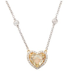 Fancy Color Diamond Heart