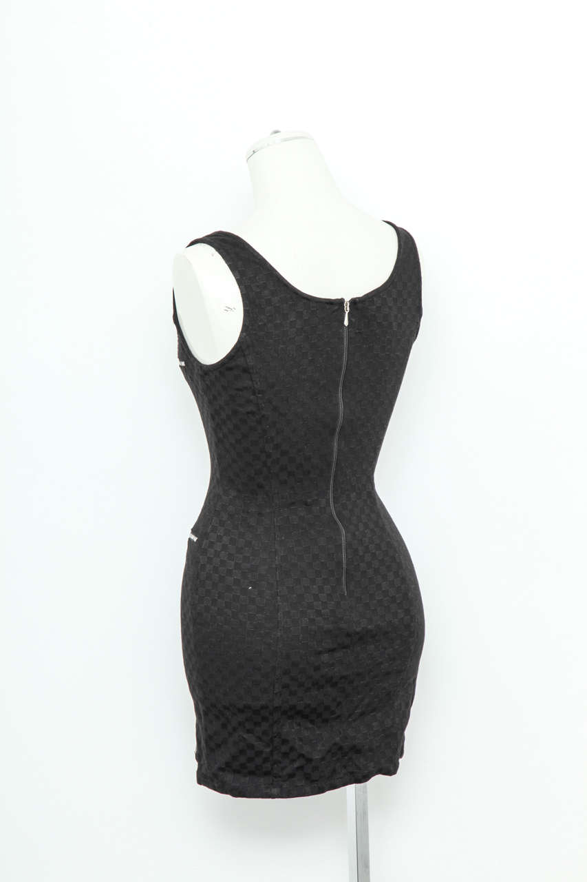 sleeveless beaded dress - Black Versace Jeans Couture Cheap Sale Cheapest PeAfeyOlS