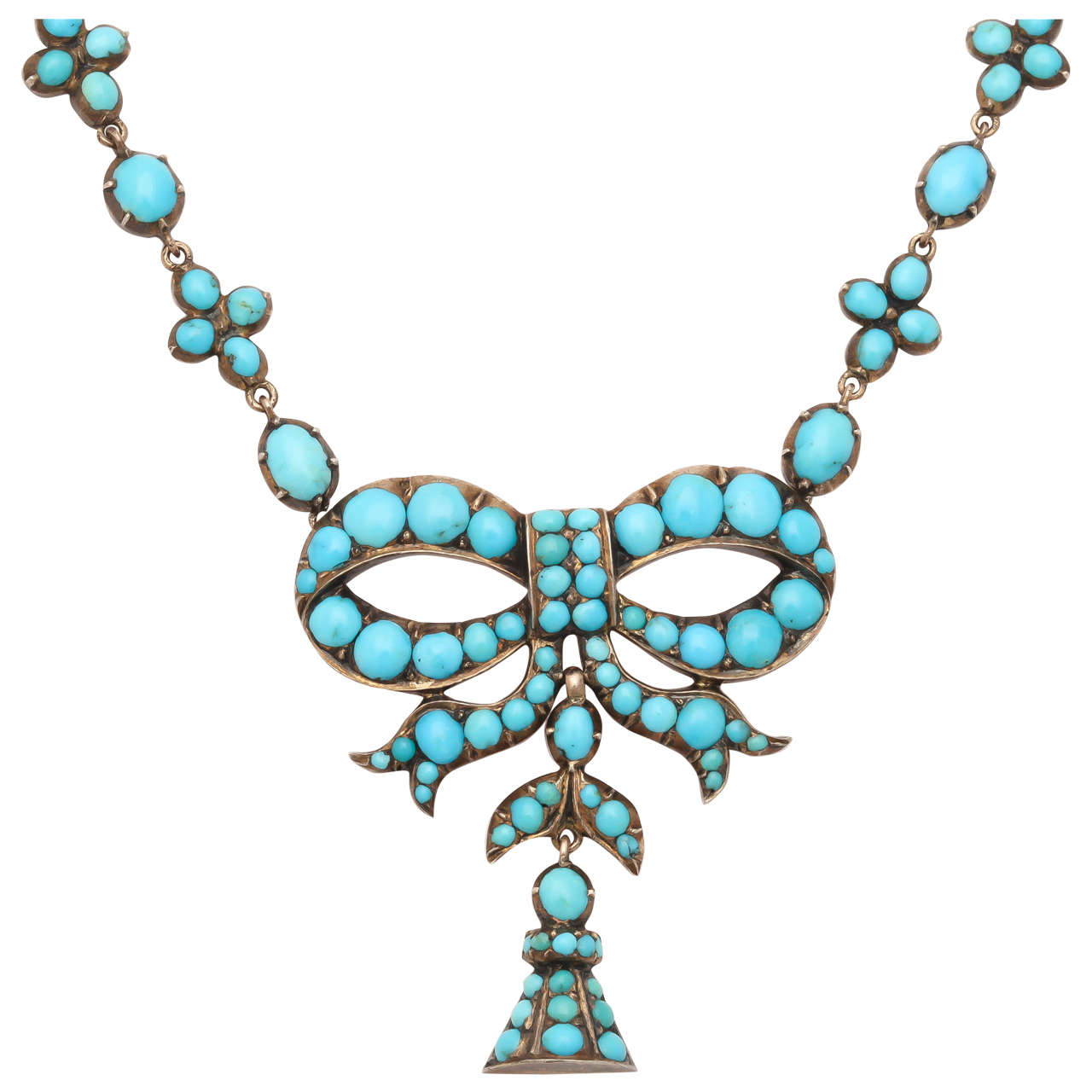 The Intimate Victorian Turquoise Necklace 1