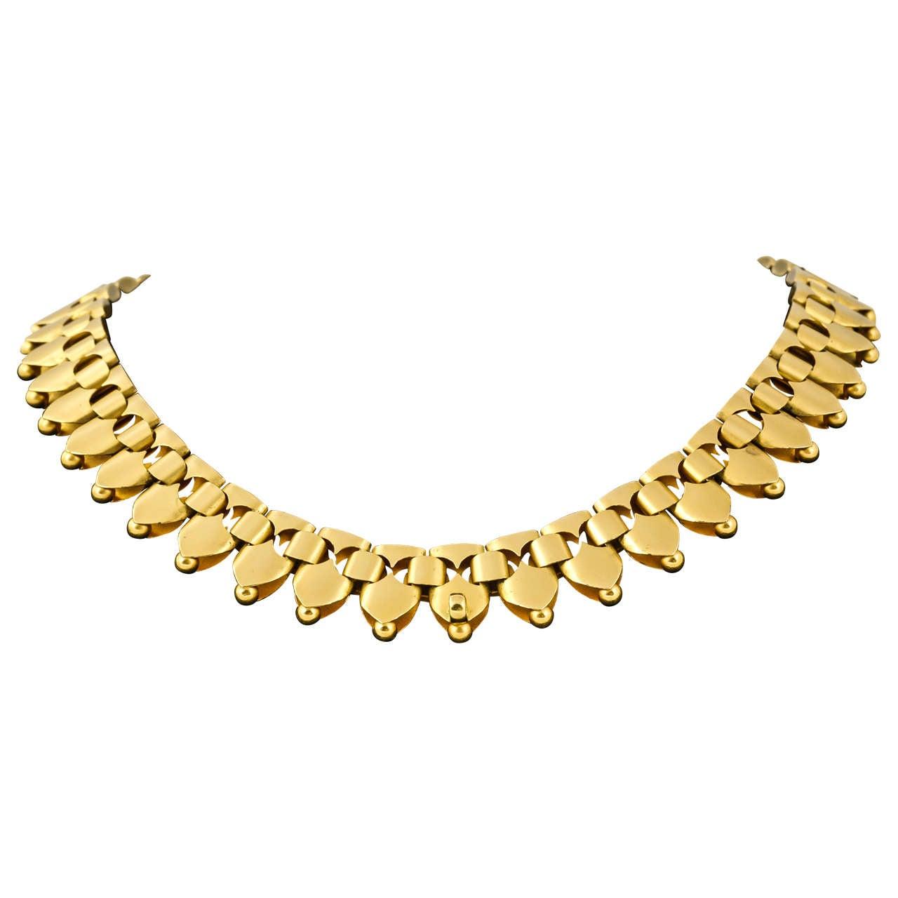 Victorian Gold Necklet 1