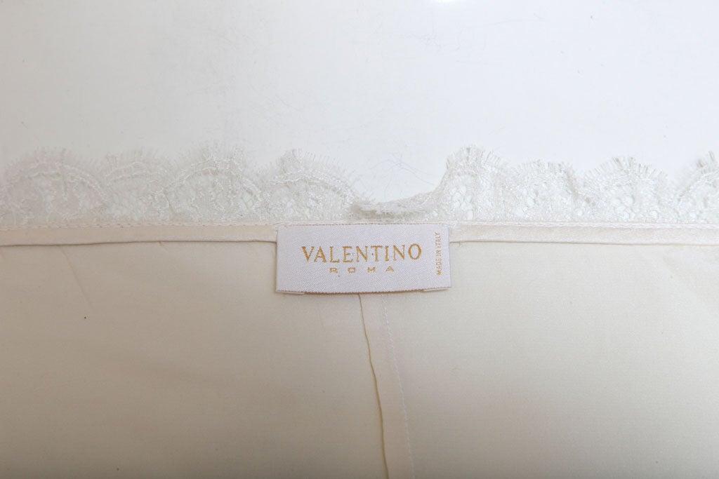 VALENTINO ROMA SILK LACE BLOUSE image 9