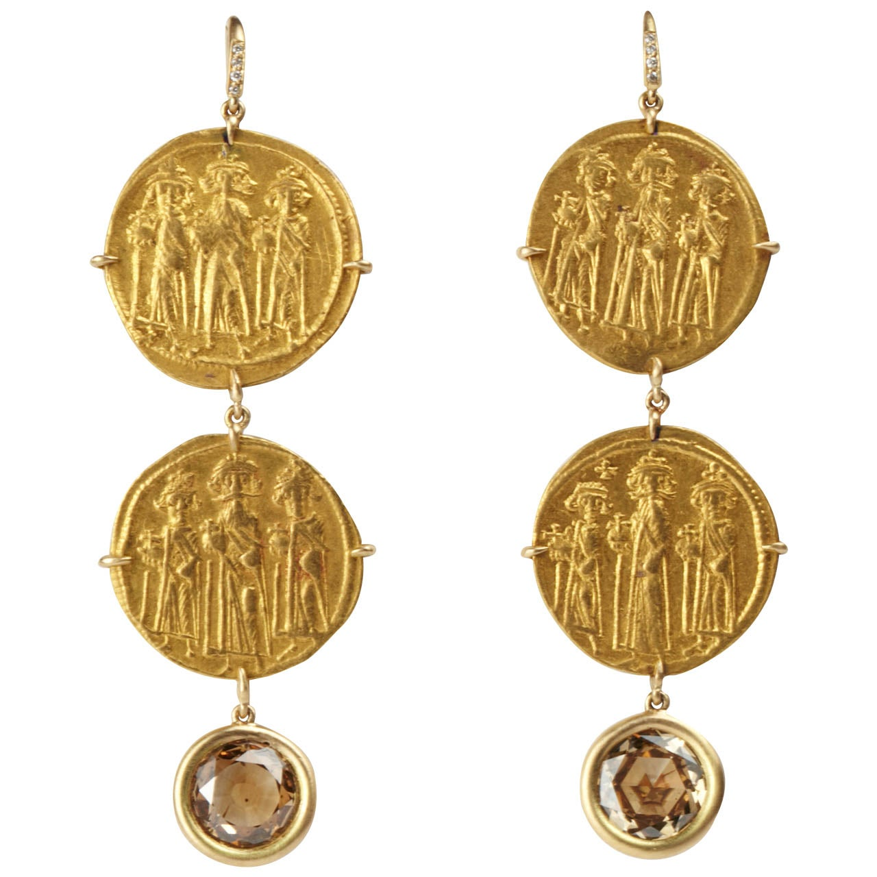Byzantine Gold Coin Earrings At 1stdibs. Edison Pendant. 2000 Engagement Rings. Stretch Band Bracelet. Jeulia Engagement Rings. Jewish Jewelry. Hazy Diamond. Edwardian Style Engagement Rings. Funky Jewellery