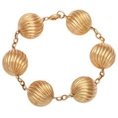 "Gold ""Baloon"" Bracelet"