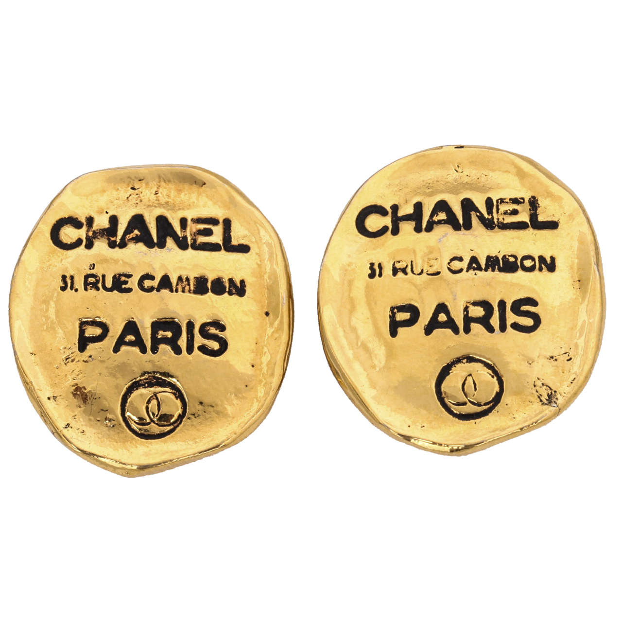 Chanel Rue Cambon Clip-On Earrings 1
