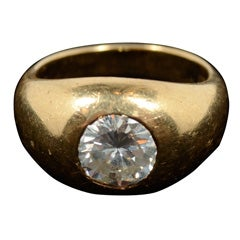 Gold and Diamond Ring by Petochi