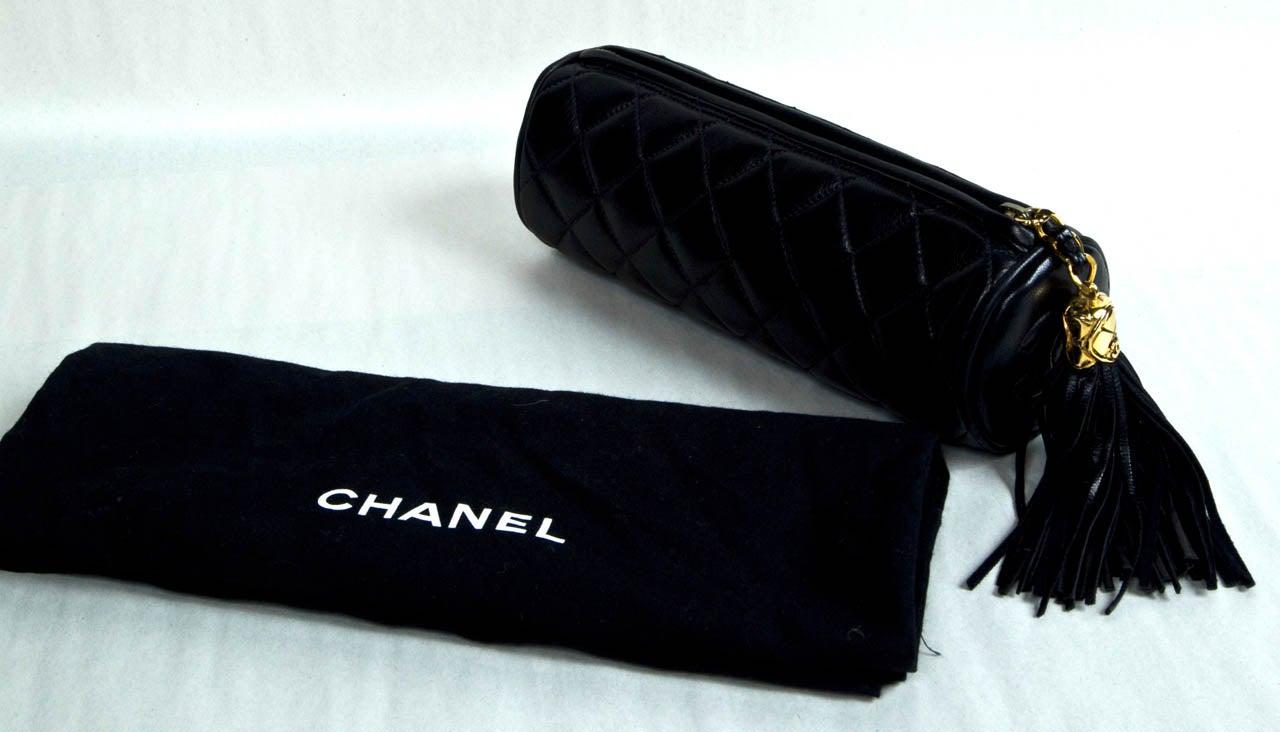 Chanel Cylinder Clutch 5