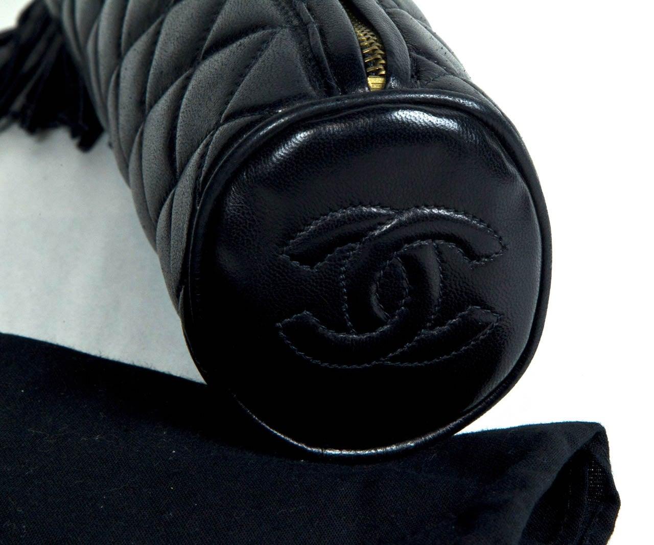 Chanel Cylinder Clutch 6