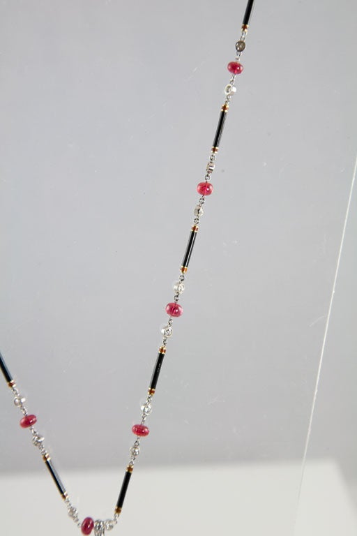 Exceptional Spinel Tassel Necklace 6